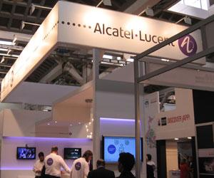 Stand Alcatel-Lucent en el MWC 2011