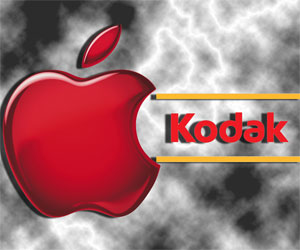 apple y kodak