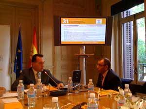Artemi Rallo, director general de la AEPD, durante la presentación