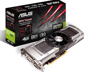 Asus GeForce GTX 690 670 DirectCU II TO