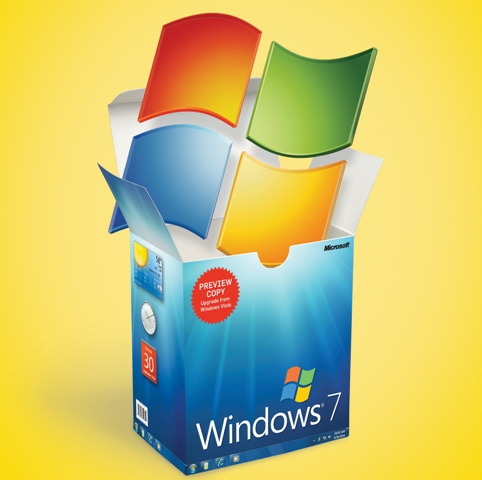 windows 7, caja, pc world, beta, microsoft