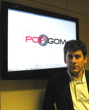 Christophe Tesseraud (CEO y fundador de Popgom)