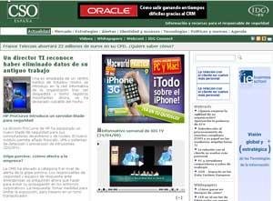 CSO es la nueva publicación de IDG España sobre seguridad