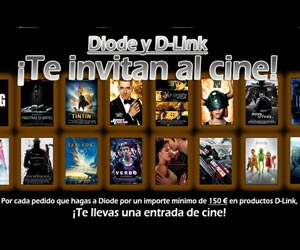 Diode D-Link promocion cine