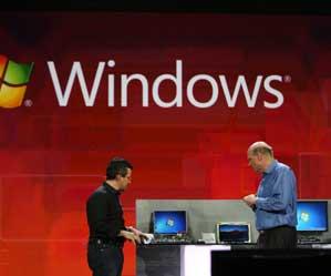 Windows 7 centró la presentación de Steve Ballmer en CES 2011