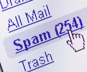 spam correo electrónico