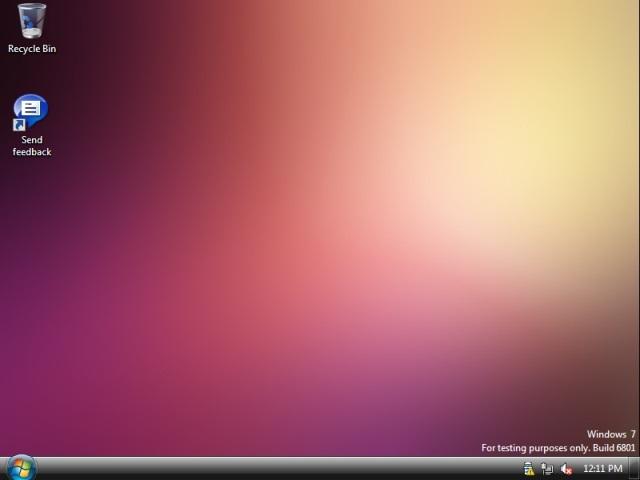 escritorio, windows 7, microsoft, beta, pc world