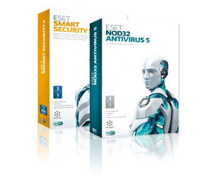 Eset NOD32 Antivirus 5 y Eset Smart Security 5