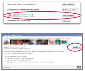 reconocimiento facial facebook privacidad