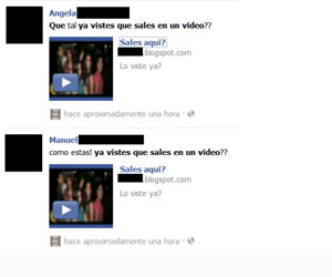 falso video facebook
