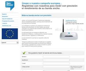 La UE busca voluntarios para medir la velocidad de la banda ancha