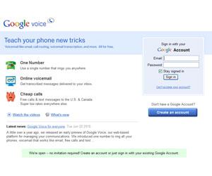 Google Voice, abierto a todos los usuarios