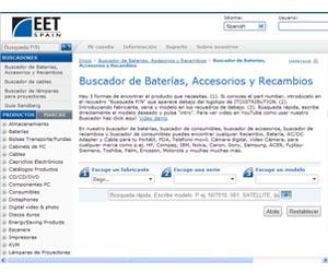Grupo EET buscador recambios accesorios