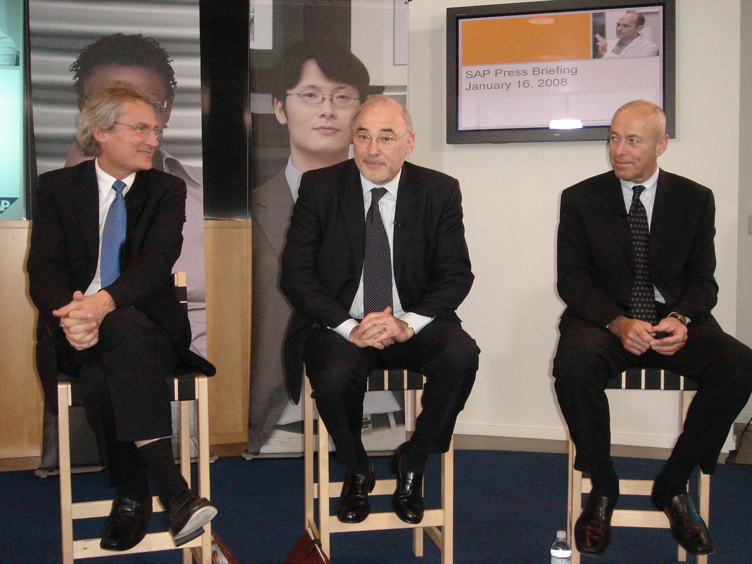 Conferencia de prensa SAP