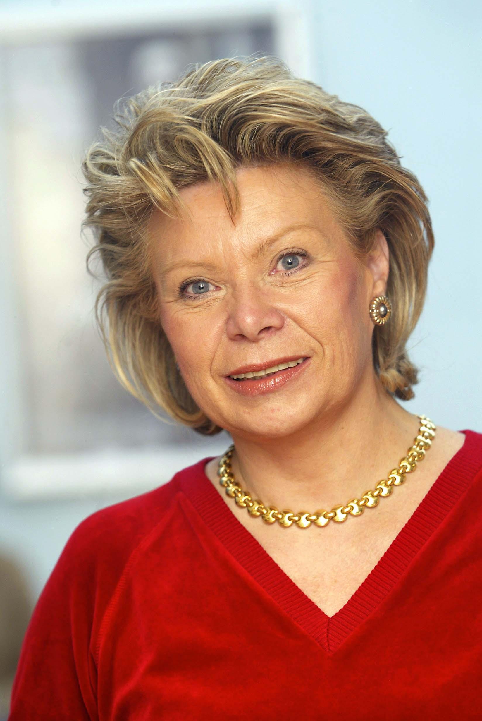 Viviane Reding, comisaria Telecomunicaciones de la CE
