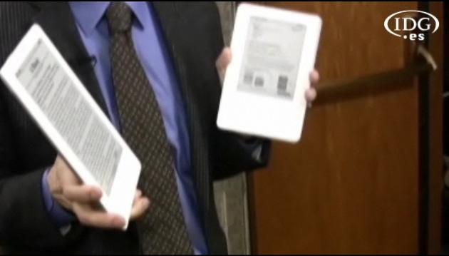Vídeo presentación Kindle DX