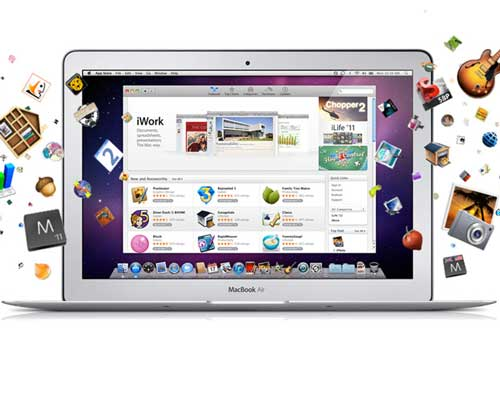 tiendas aplicaciones software empresarial SaaS cloud