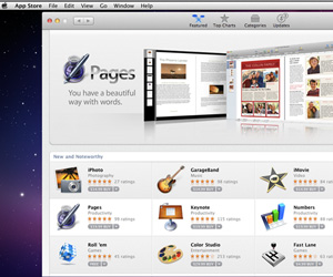 Apple store spam