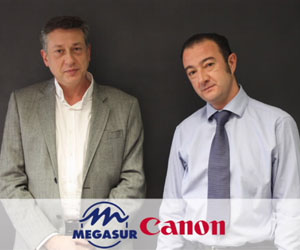 Megasur Canon impresion imagen optico