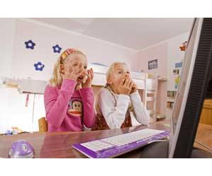 niños visitan páginas de adultos