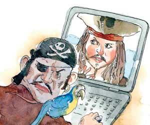sortware pirata amenaza