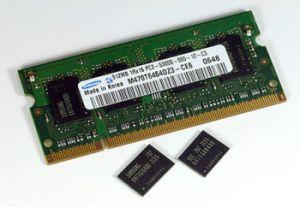 memoria DRAM PC tablets smartphones