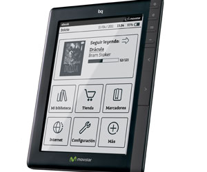 Movistar ebook bq libros electronicos