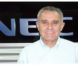 Rafael Estebán, director general de NEC Iberia