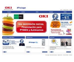 Oki IPstage web