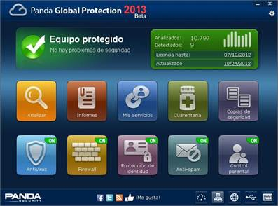 Panda SEcurity Global Protection 2013 beta