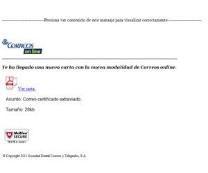 Phishing Correos, faltas notificaciones de multas