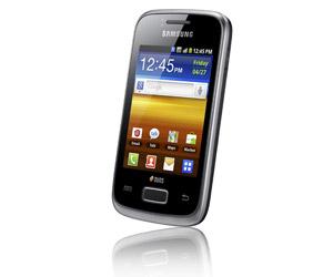 Samsung Galaxy y DUOS smartphone