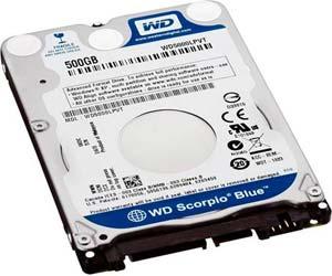 Western digital Scorpio Blue discos duros ultrabooks