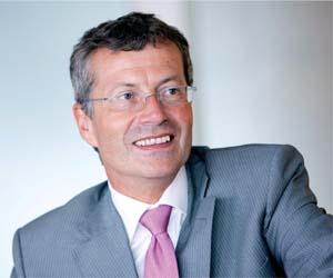 Francois Enaud, presidente del Grupo Steria