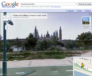 Microsoft Google Street View