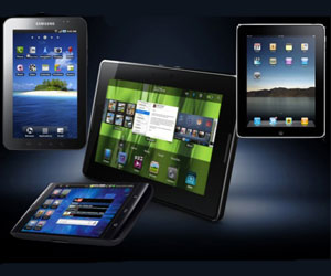 Context tablets Apple iPad 2 Asus Acer