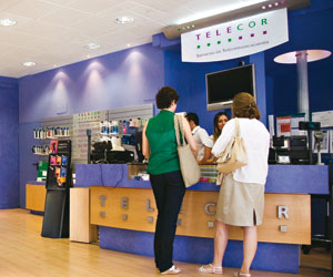 Telecor tienda