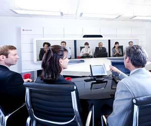 Polycom videoconferencia HP