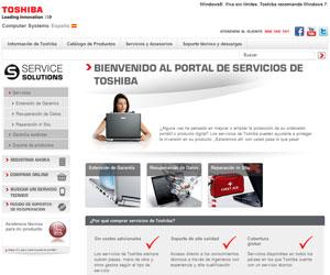 Toshiba tienda online servicios