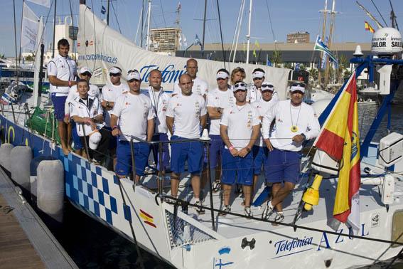 Equipo español en la Volvo Ocean Race 2009
