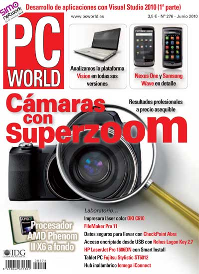 portada pc world 276, junio 2010