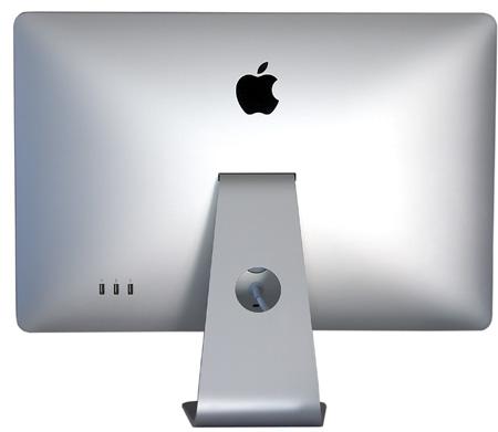 parte posterior del apple led cinema display de 24 pulgadas.
