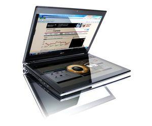acer iconia: portátil con dos pantallas táctiles de 14