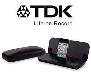 tdk presenta el altavoz plegable tac3521 para iphone y ipod