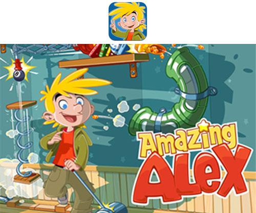 amazing alex, el nuevo juego de los creadores de angry birds, debuta con 10.000 niveles