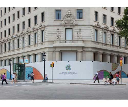 la inauguración de la nueva apple store de barcelona cada vez más cerca