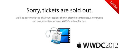 apple inaugurará la wwdc 2.012 con una keynote el próximo día 11 de junio