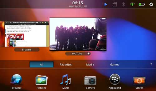 blackberry playbook análisis