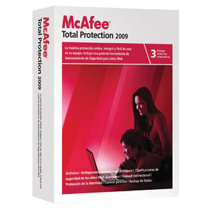 mcafee total protection 2009