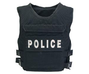 chaleco policía